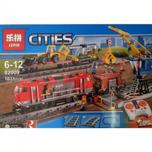 Train Set Toy With Remote City Building