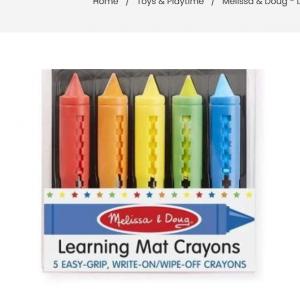 Child Crayon set