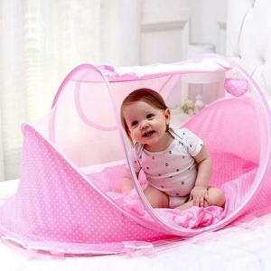 Large Baby Sleeping Tent – Pink