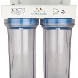 Water Filtration System filter, GAC+KDF cartridge + PP filter cartridge