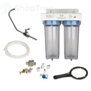 Water Filtration System NW BR-10F-K filter, with GAC+KDF cartridge + PP Filter cartridge