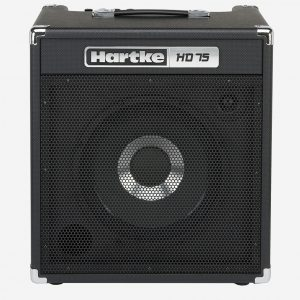 75 Watt Hartke HD75 Bass amplifier speaker