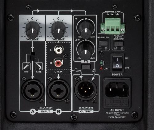 Titan 12D active PA speaker